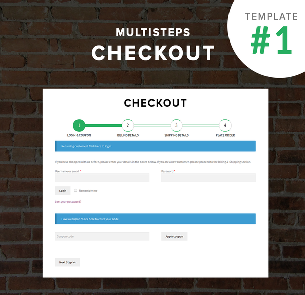 Is there any multistep checkout plugin for WooCommerce? - Quora