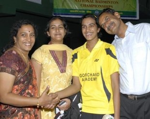 Did PV Sindhu have sisters? Who are they? - Quora