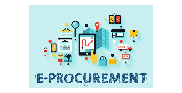 What are the top listed software tools for e-procurement in