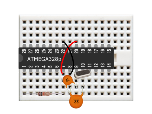 Can I use ATmega328P without Arduino just using it in breadboard for