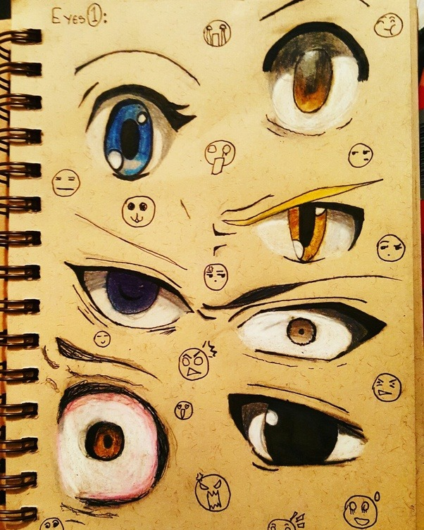 The bottom left one is atrocious pay it no attention also can you recognise the owner of each eye