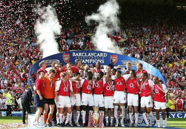 Which Year Did Arsenal Win The Premier League Without Losing Any Match Quora