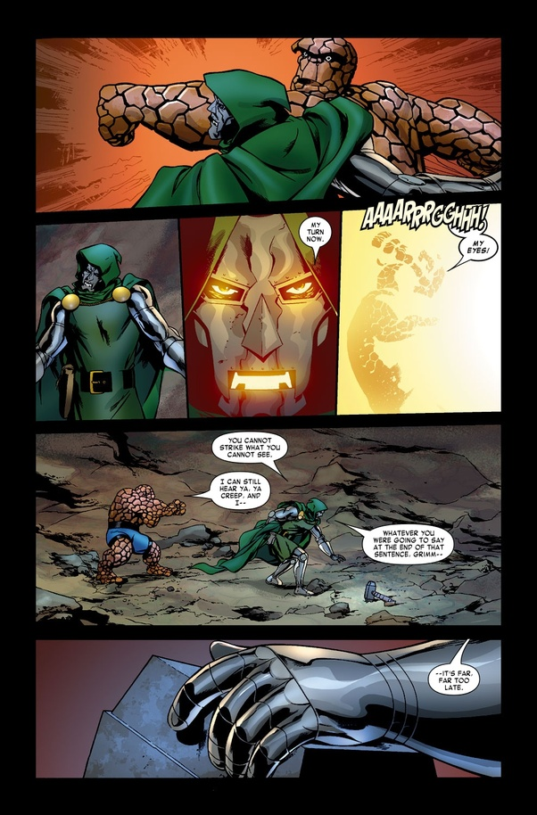 Is Dr  Doom worthy to wield Mjolnir? - Quora