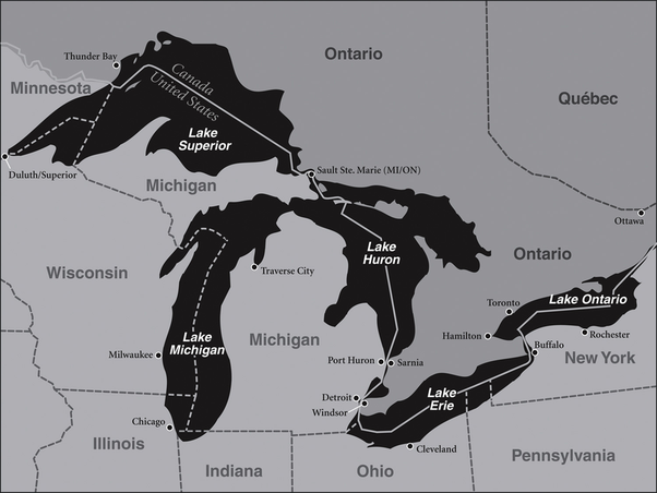 name the great lakes - 602×452