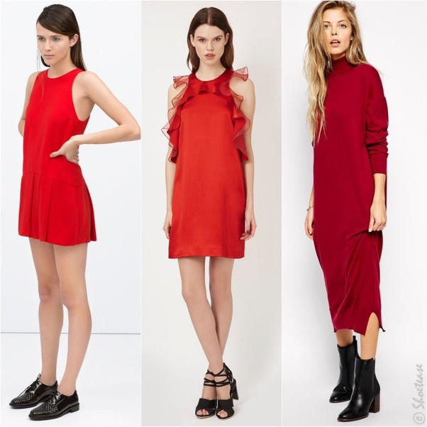 915b42cc4 What color shoes and accessories go well with a red dress  - Quora
