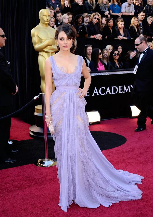 Who designed Mila Kunis\' 2011 Oscars dress? - Quora