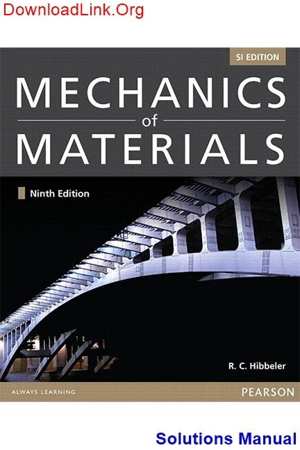 mechanics of materials 9th edition si hibbeler r c torrent