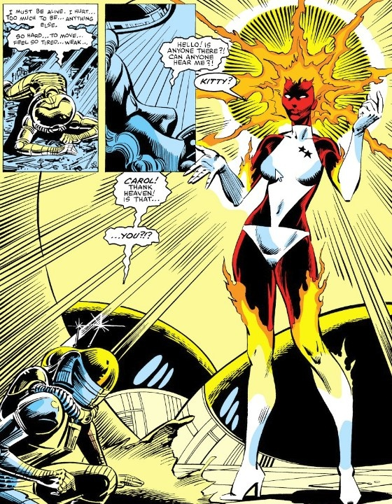 Who is Carol Danvers as Captain Marvel (IV)? What are her powers and