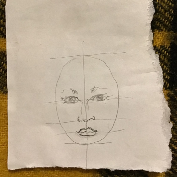 Why Can T An Amateur Artist Draw A Face Accurately What Are The Things An Artist Glosses Over Such That The Face Ends Up Looking Different Because Of It Quora