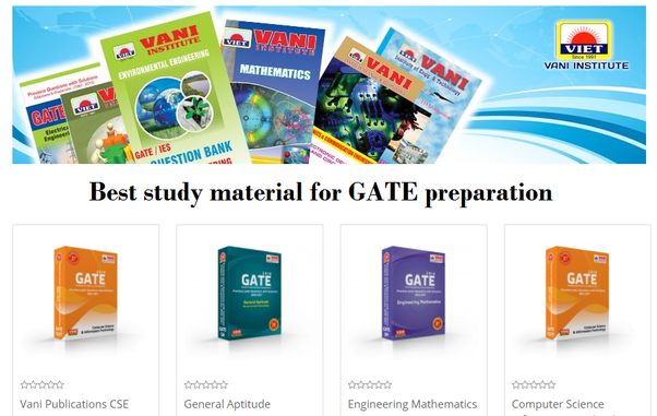 Which is the best material for the GATE (CSE) preparation