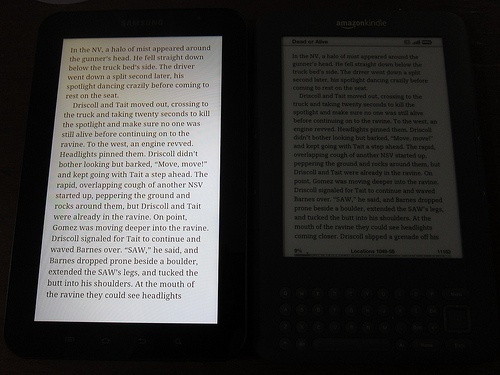 Why do people buy eReaders like the Kindle with an e-ink