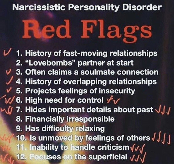 Dating a girl with narcissistic personality disorder