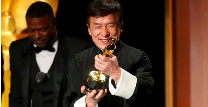 jackie chan awards imdb