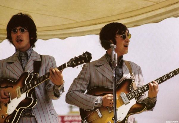 What Hollow Body Guitars Did John Lennon Play Quora