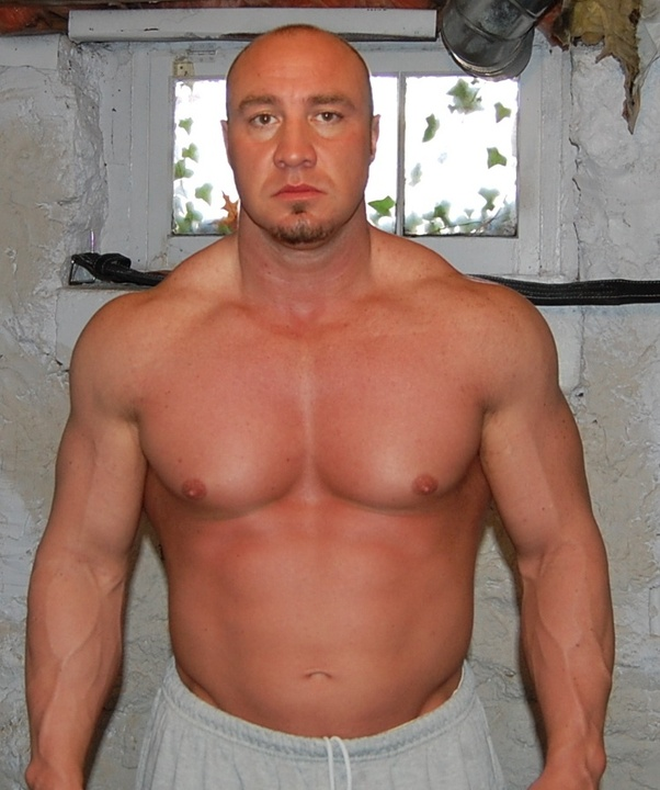 Look Like With That Much Muscle Mat That Body Fat Percentage His Name Is Paul Carter He Himself Said He Was 235 In This Picture Back In 2011