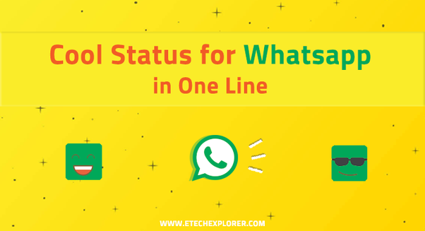 What Are The Best Whatsapp Statuses In English Quora