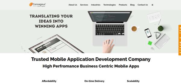 What are the top iOS app development companies? - Quora