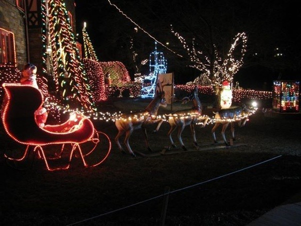 heres a view of a small corner of the property photographed december 29 2010 - Christmas Lights In Dc