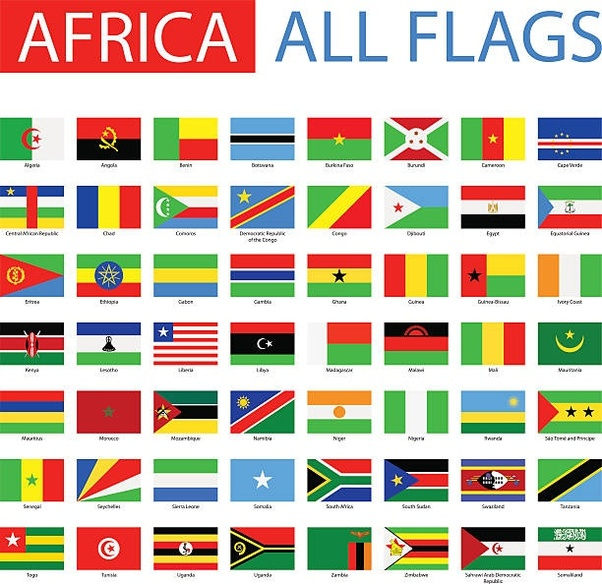 why do most of the african flags have a green colour quora