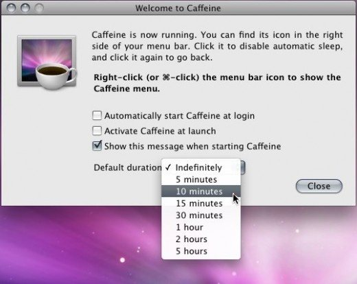 How to make my Mac laptop stay awake all the time (it should never