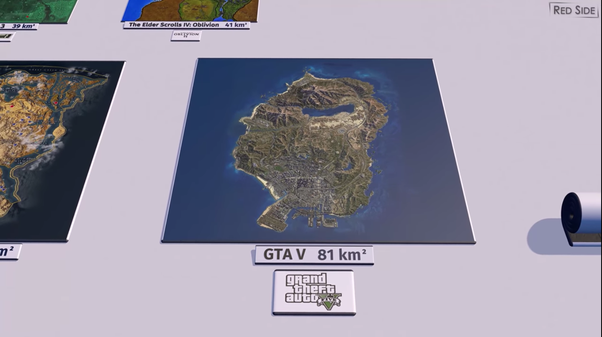 Do Rockstar Games Create The Largest Open World Maps In Video