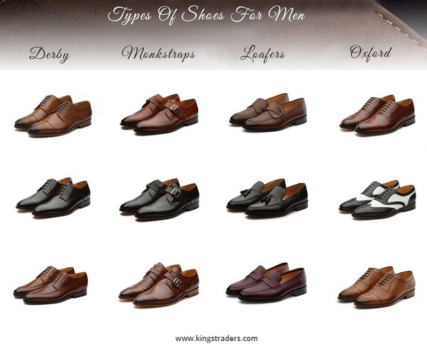 Types Of Leather Used To Make Dress Shoes