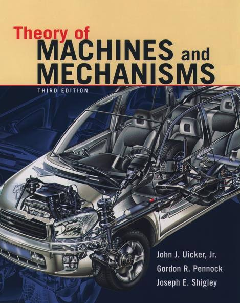 Which is the best book for theory of machines tom quora theory of machines and mechanisms by joseph edward shigley fandeluxe Images