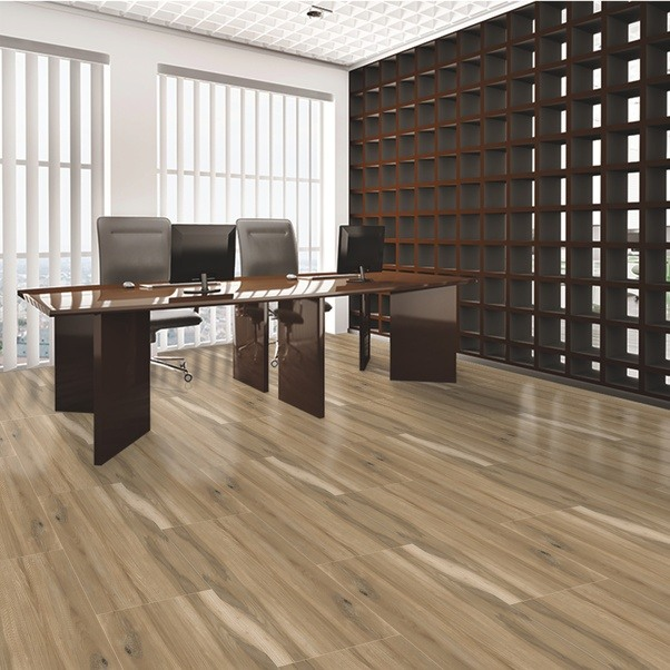 Which types of flooring tiles provides amazing look to my office ...