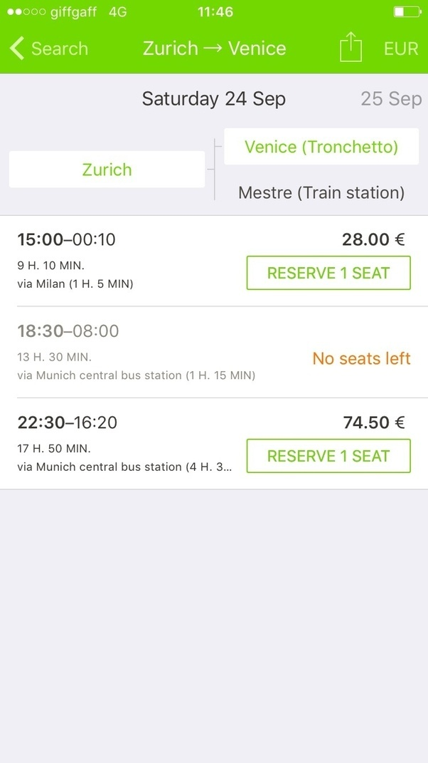 What is the best way to get from zurich to venice quora do not go with the car yourself this is exceptionally expensive mainly because of the parking costs near venice solutioingenieria Choice Image