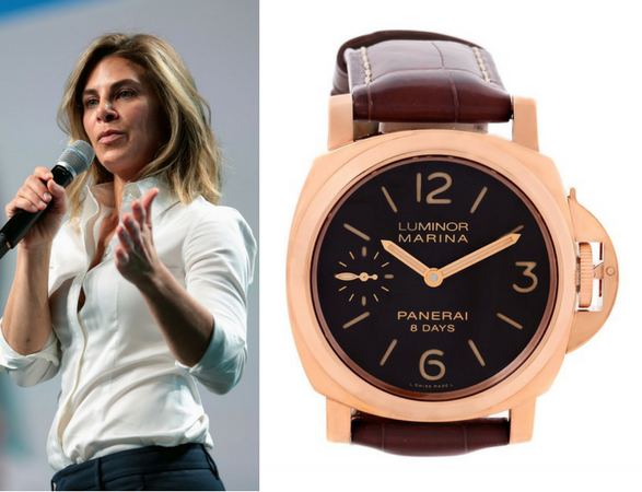 Who are some celebrities known for wearing panerai watches quora for Woman celebrity watches