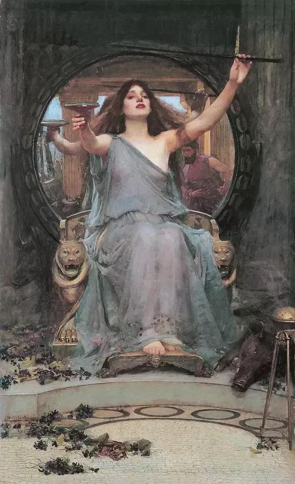 Odysseus and circe having sex