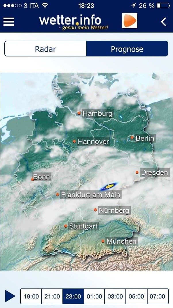 Whats the best iphone weather app for germany quora makes it stand out among other apps is the precise rain radar niederschlagsradar should i walk the dog now or will it get better or worse gumiabroncs Gallery