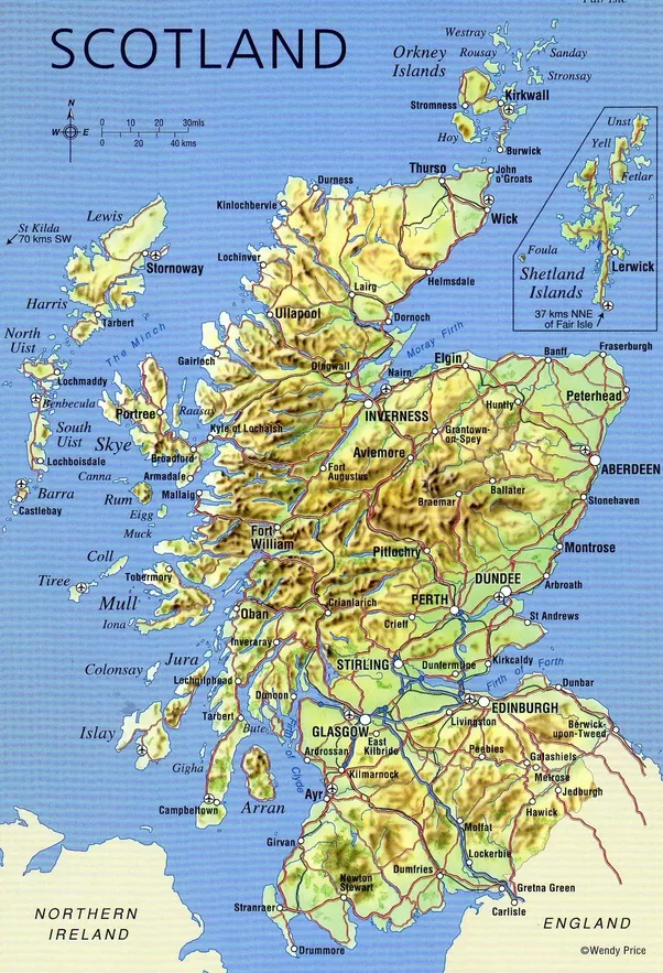 What Things Should You Know About Scotland Quora - Where is scotland