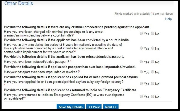 How to Apply for fresh Indian Passport Online. 16