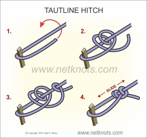 Adjustable Sliding Knot Tutorial