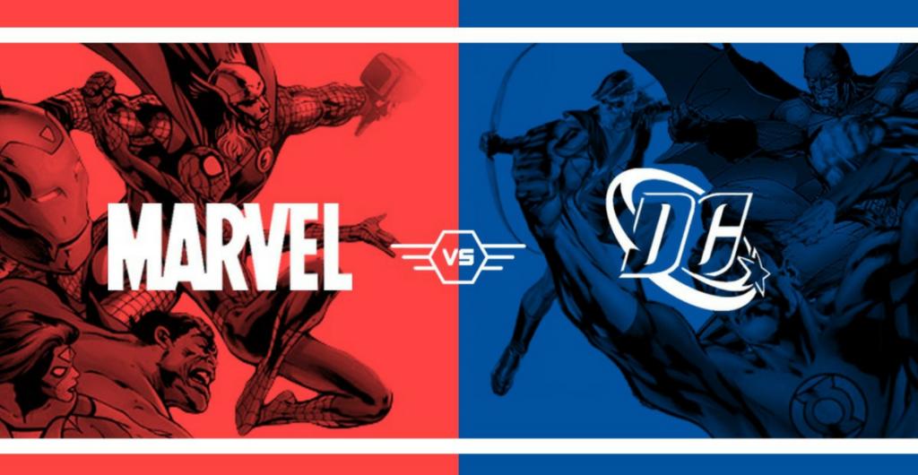 Image result for dc vs marvel