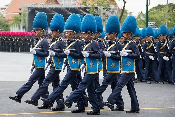 Could you show us some examples of unusual looking military uniforms