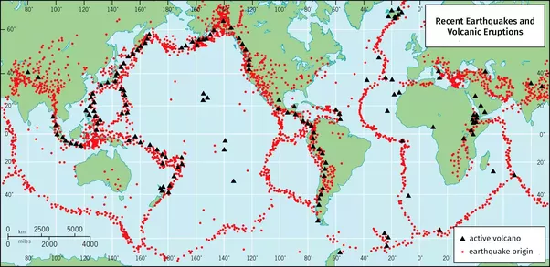 What is a tectonic plate quora this map from how plate tectonics is connected with life on the planet the dialogue shows the plates and some of the consequences gumiabroncs Image collections