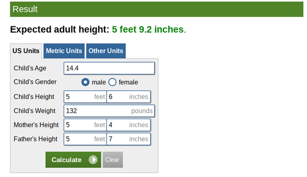 My Height Is 5 6 And I M 14 Year Old Boy My Mom Is 5 4 And My Dad Is 5 7 How Tall Will I Be Quora