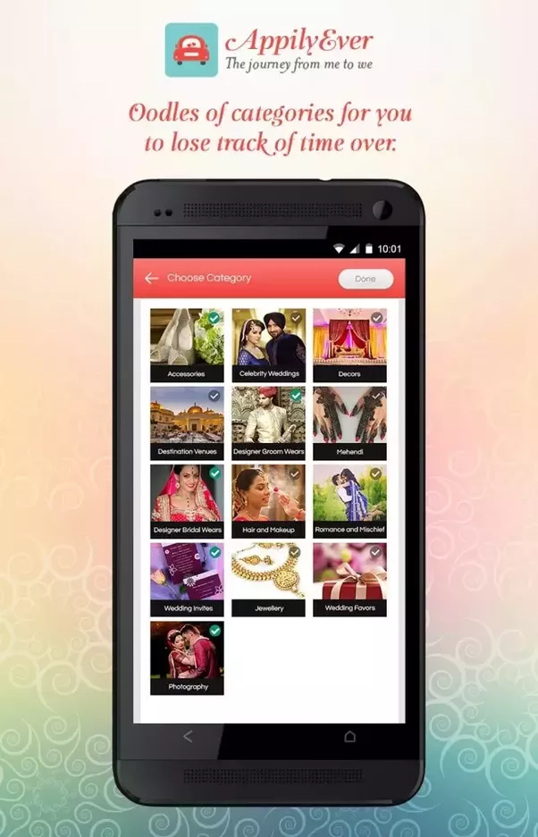 What is the best app for wedding planning quora you can download the appilyever app appilyever all things wedding android apps on google play and appilyever on the app store junglespirit Images