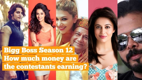 What is the weekly salary of Bigg Boss 12 contestants? - Quora
