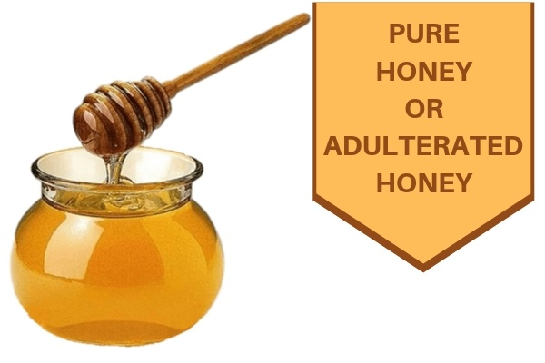 What is the best and easiest method to check whether honey is pure