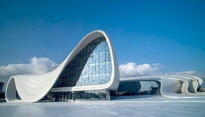 What are the building materials used by architect zaha hadid? - Quora