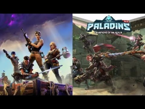 What's a better free game to play, Paladins or Fortnite? - Quora