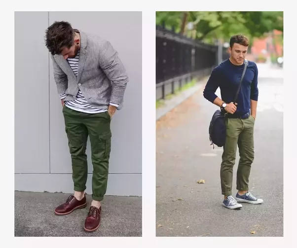 What Color Shirt Will Match Some Dark Green Chino Pants