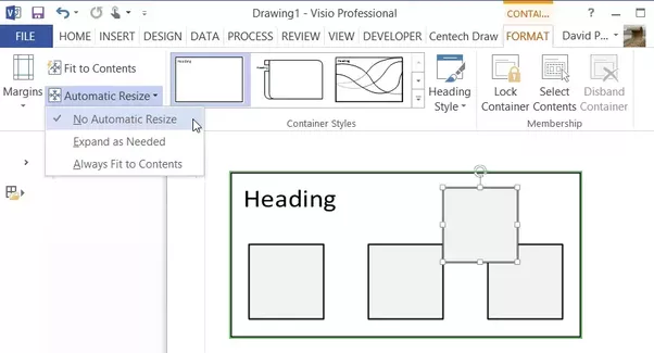 How To Overlay Shapes In Visio Without The Shapes In An Underlying