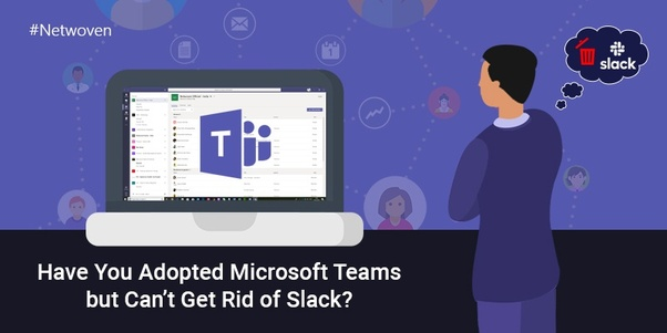 What is it like to transition from Slack to Microsoft Teams