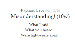 what are some best quotes about misunderstanding quora