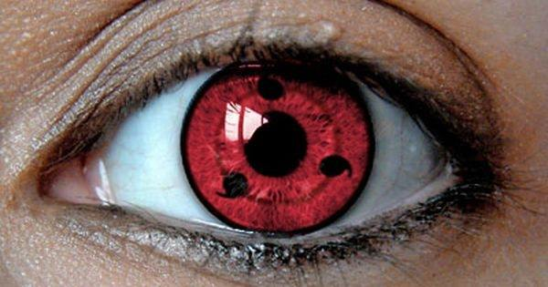 how to put in sharingan contacts