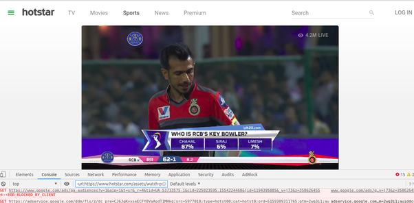 Which is the best Android app for watching live cricket (IPL